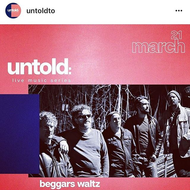 Thanks @untoldto for the feature! Back at it next Thursday, March 21 at @thehideouttoronto! Tickets available in bio. Get yours now for a free pint of @amsterdambeer!