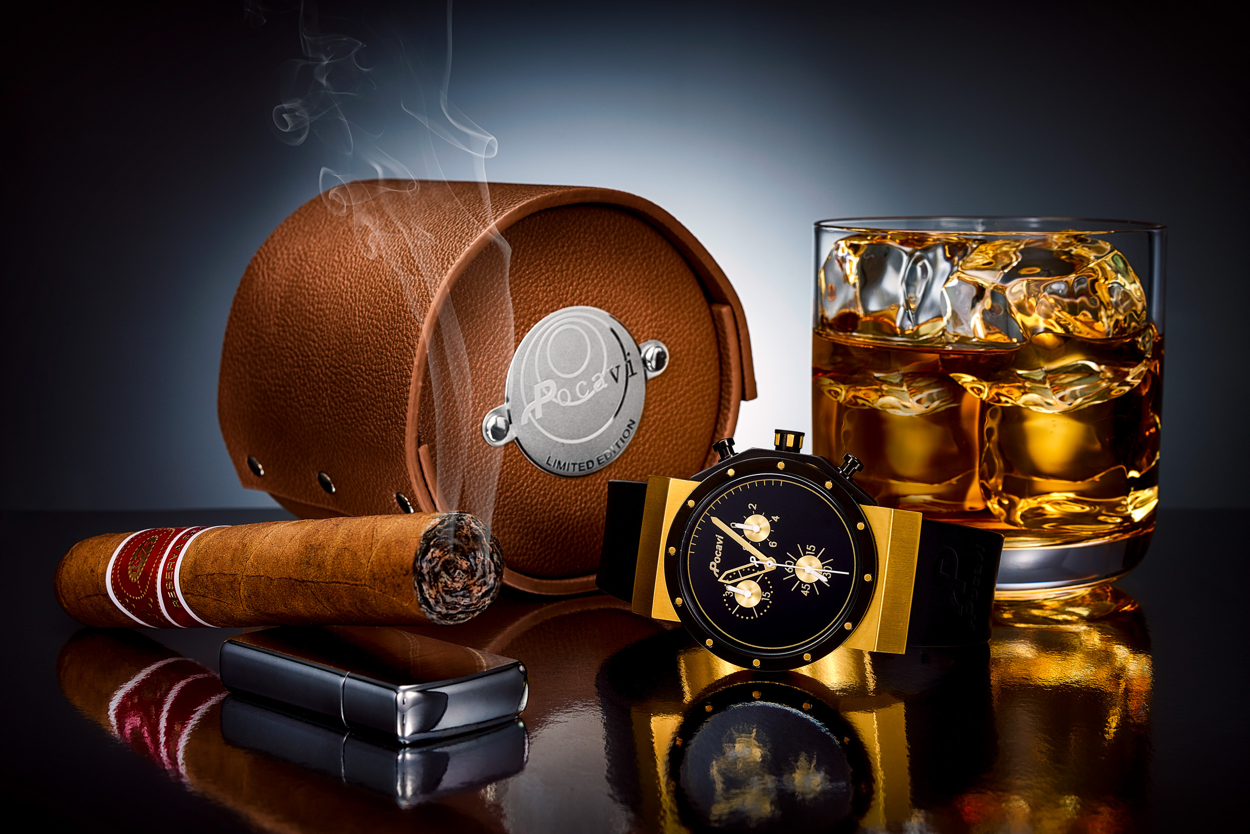Pocavi_Yellow_Gold_whiskey_Cigar_Miami_Fort_Lauderdale_Commercial_Jewelry_Photographer_Franklin Castillo-Edit.jpg