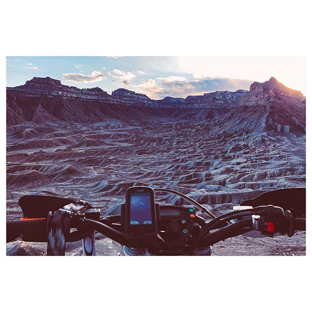 Rode my bike to the moon the other day. . . . #moab #rydersalley