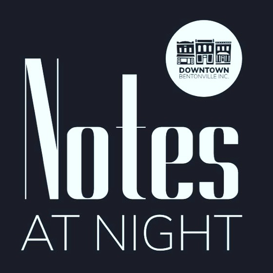 This Thursday I'll be playing for the Notes At Night series in Bentonville. @collinlittlejohn and I will be at @louise_thadenfield on the patio 6-8pm. All. The. Hits.