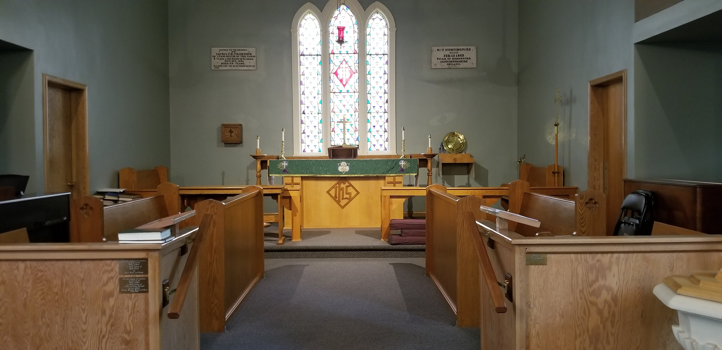 The main sanctuary.
