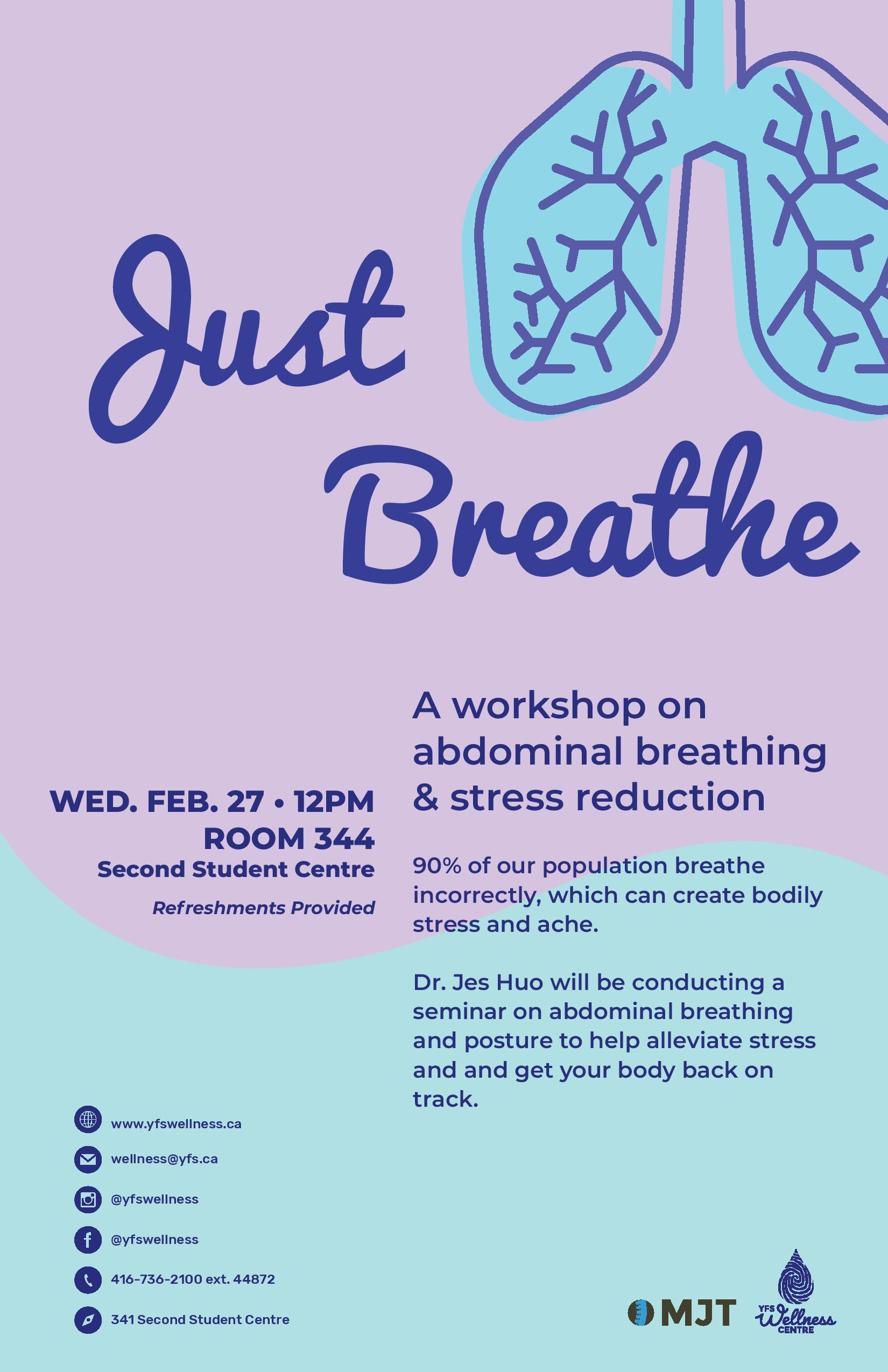 Just Breathe Workshop