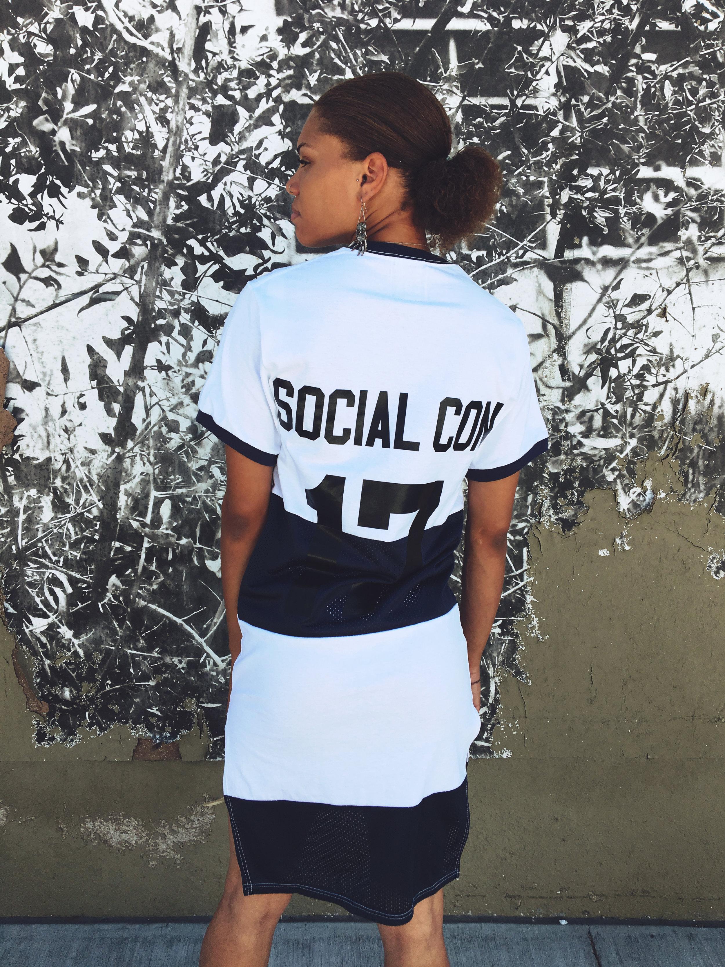 VERGE T-Shirt Dress  $89.00