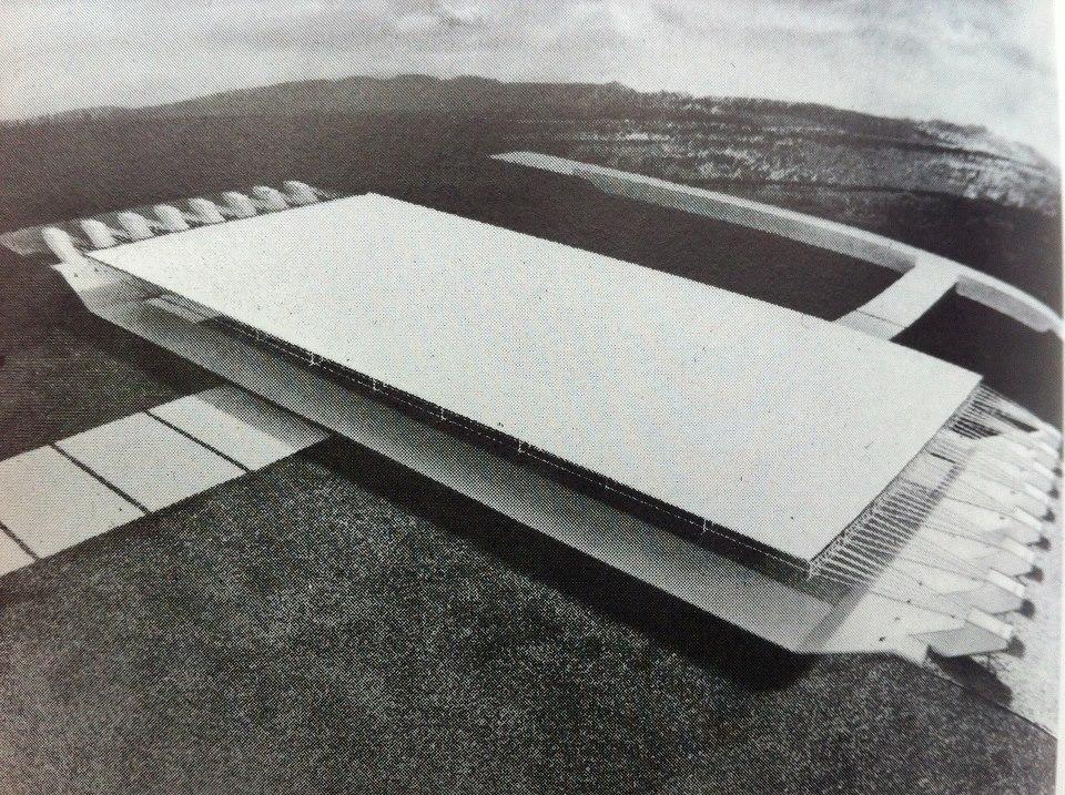 Konrad Wachsmann, California City, California, City Hall Proposal