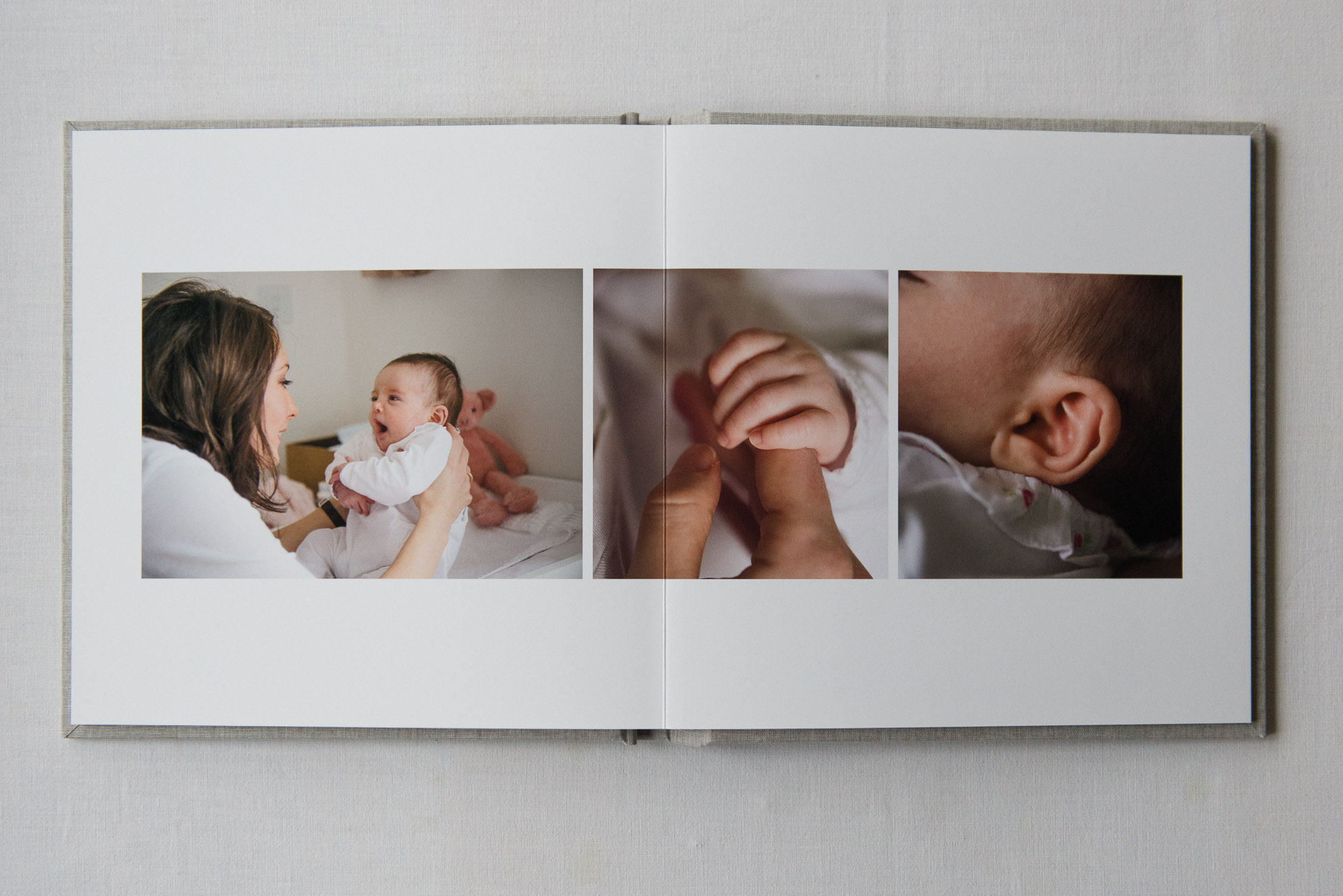 Albums open perfectly flat - For gorgeous layouts. Available in sizes up to 12in x 12in.