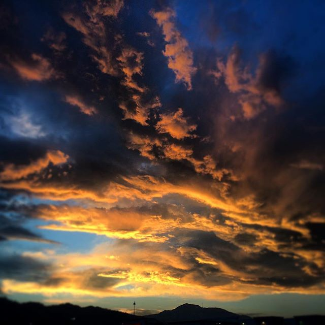 #Morrison #colorado #sunset #justterrible