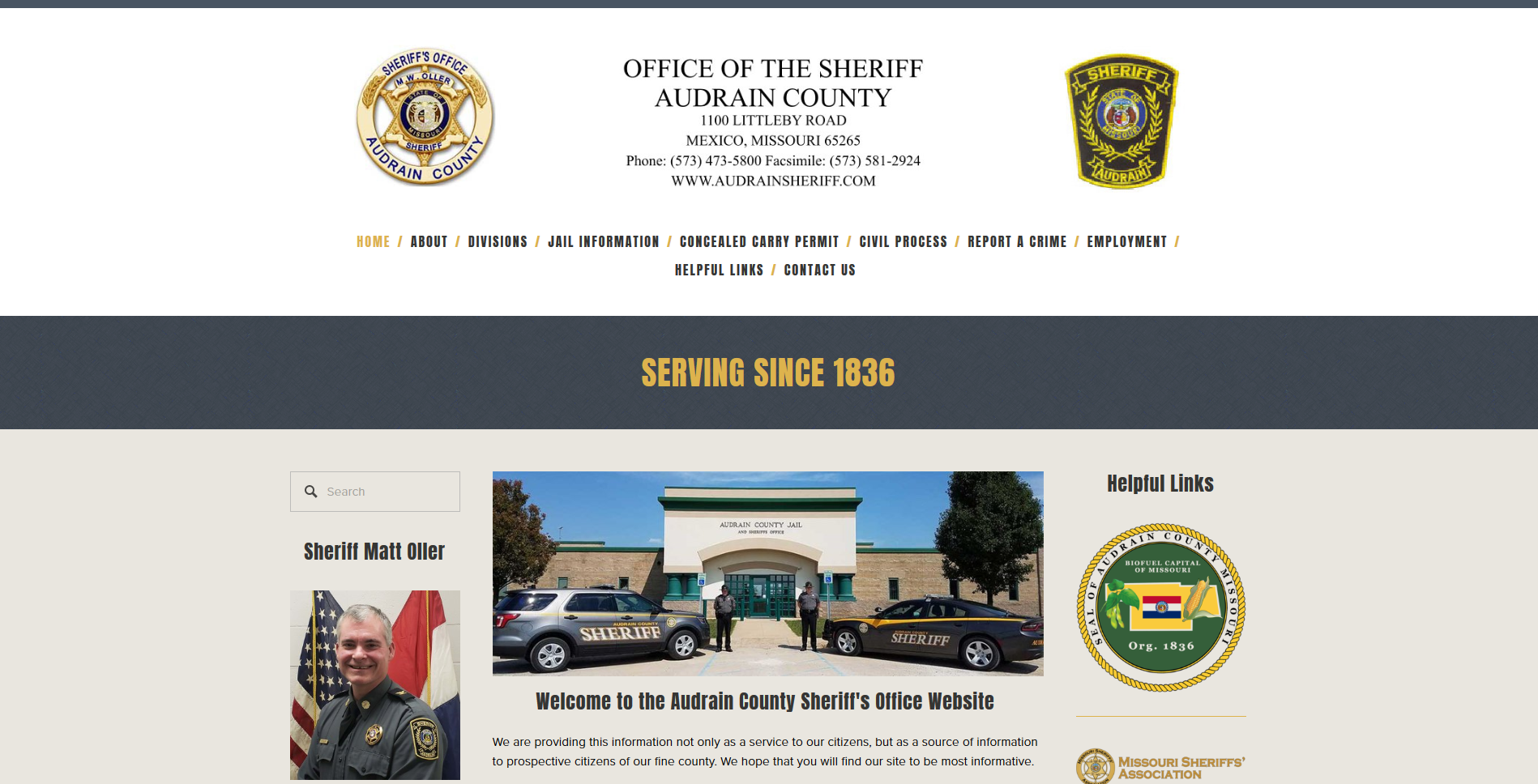 Audrain County Missouri Sheriff's Office
