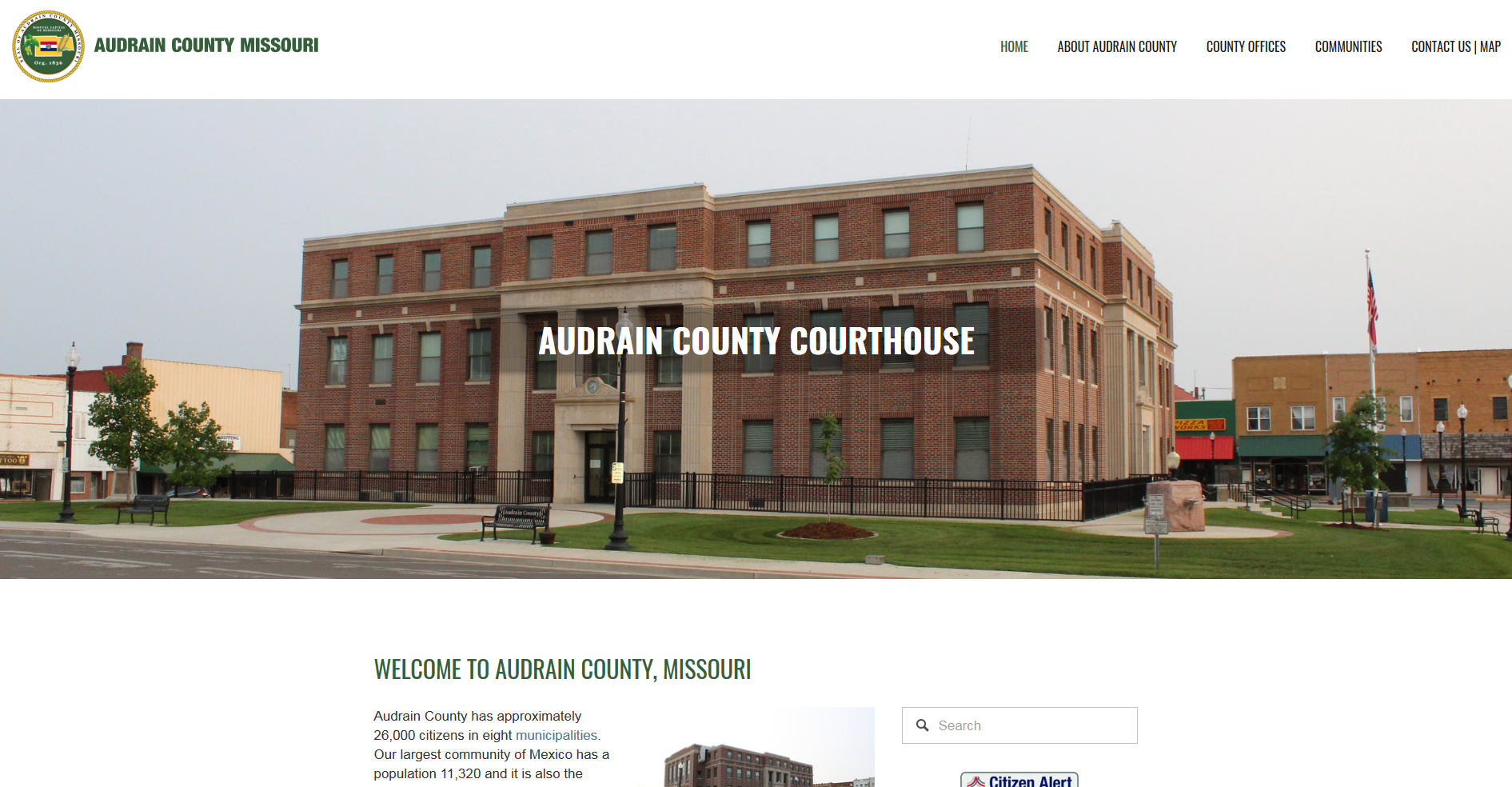 Audrain County Official Website