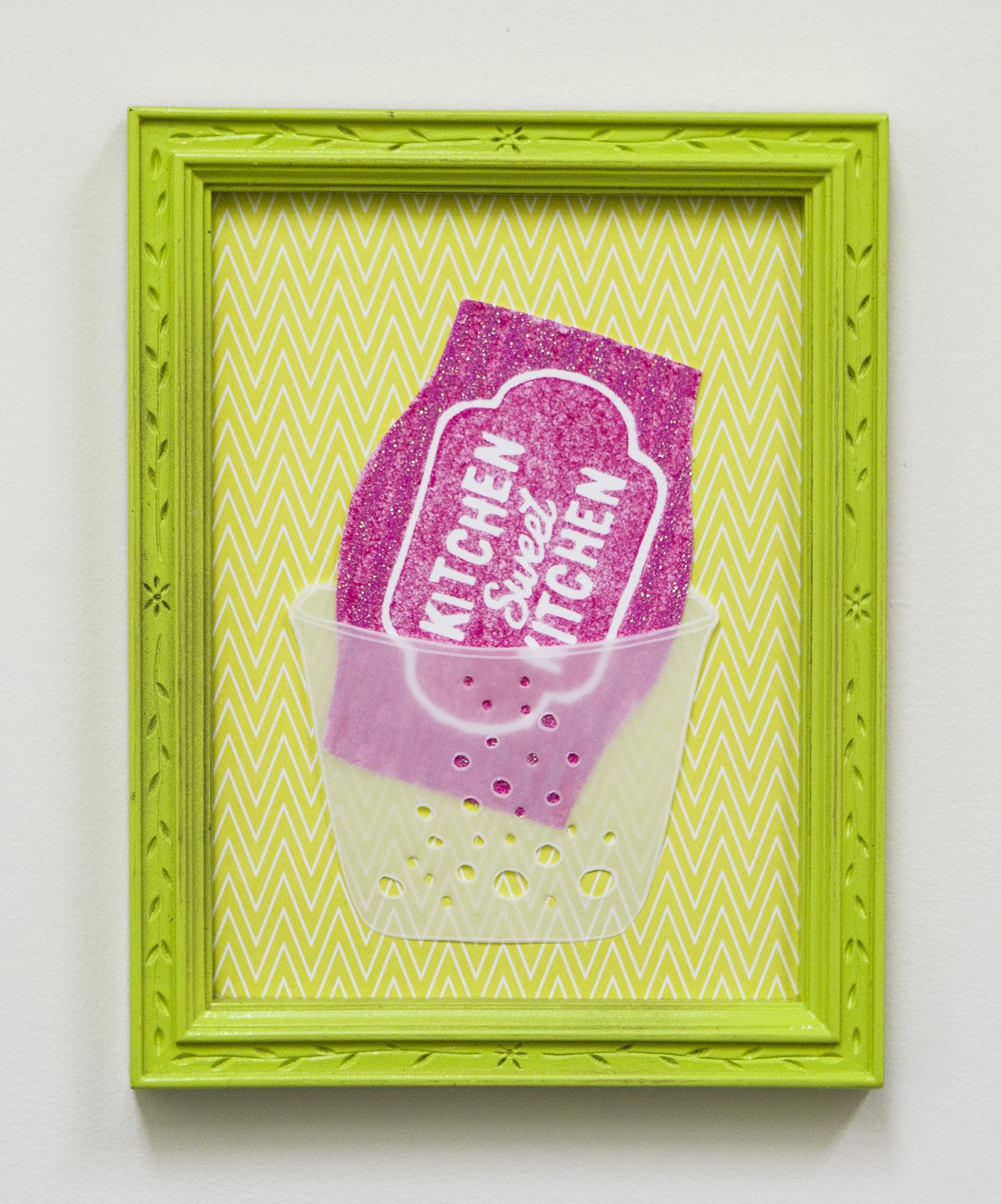 Scotch Brite Printed Non-Scratch Scrub Sponge: Kitchen Sweet Kitchen