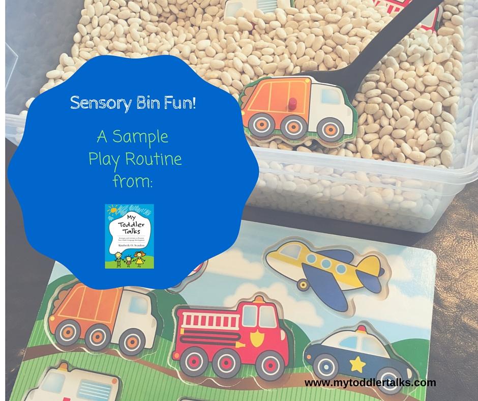Sensory Bin Fun