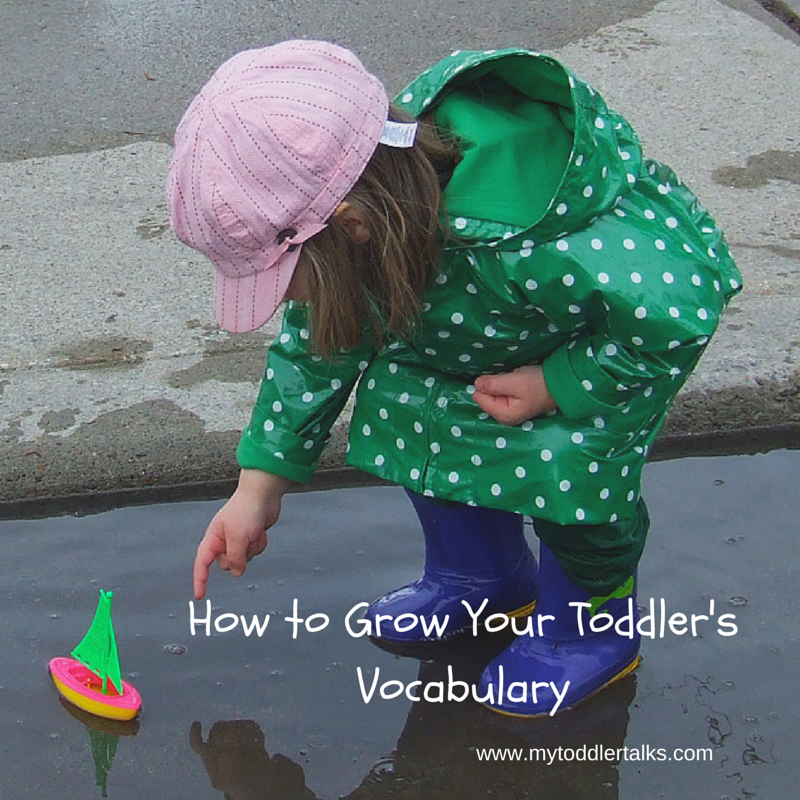 How to Grow Your Toddler's Vocabulary