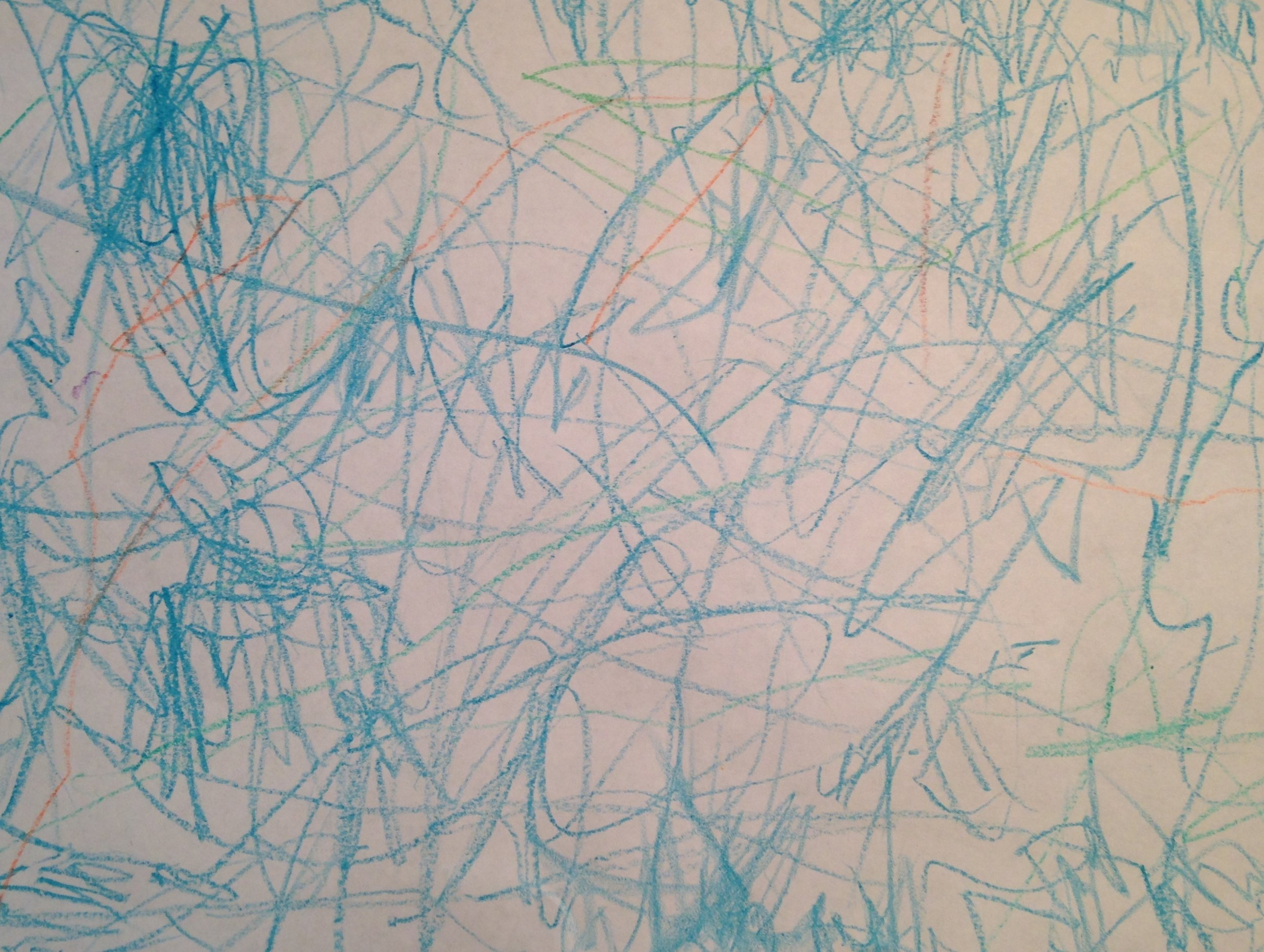 Art by a 26 month old