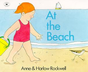 A toddler summer book to build language: at the beach