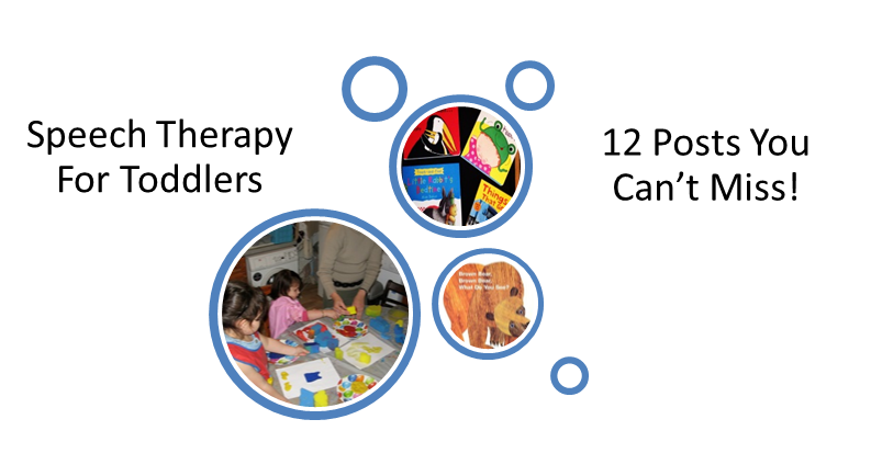 Speech Therapy for Toddlers: 12 Posts You Can't Miss!