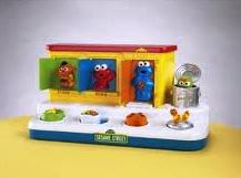 Sesame Street Pop Up Toy
