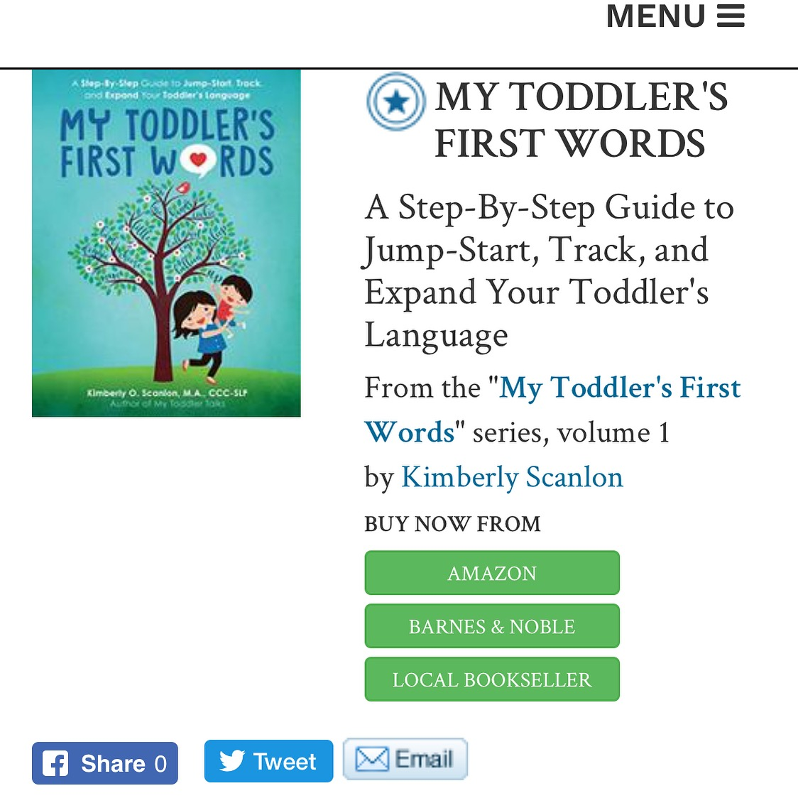 Kirkus Review My Toddler's First Words.JPG
