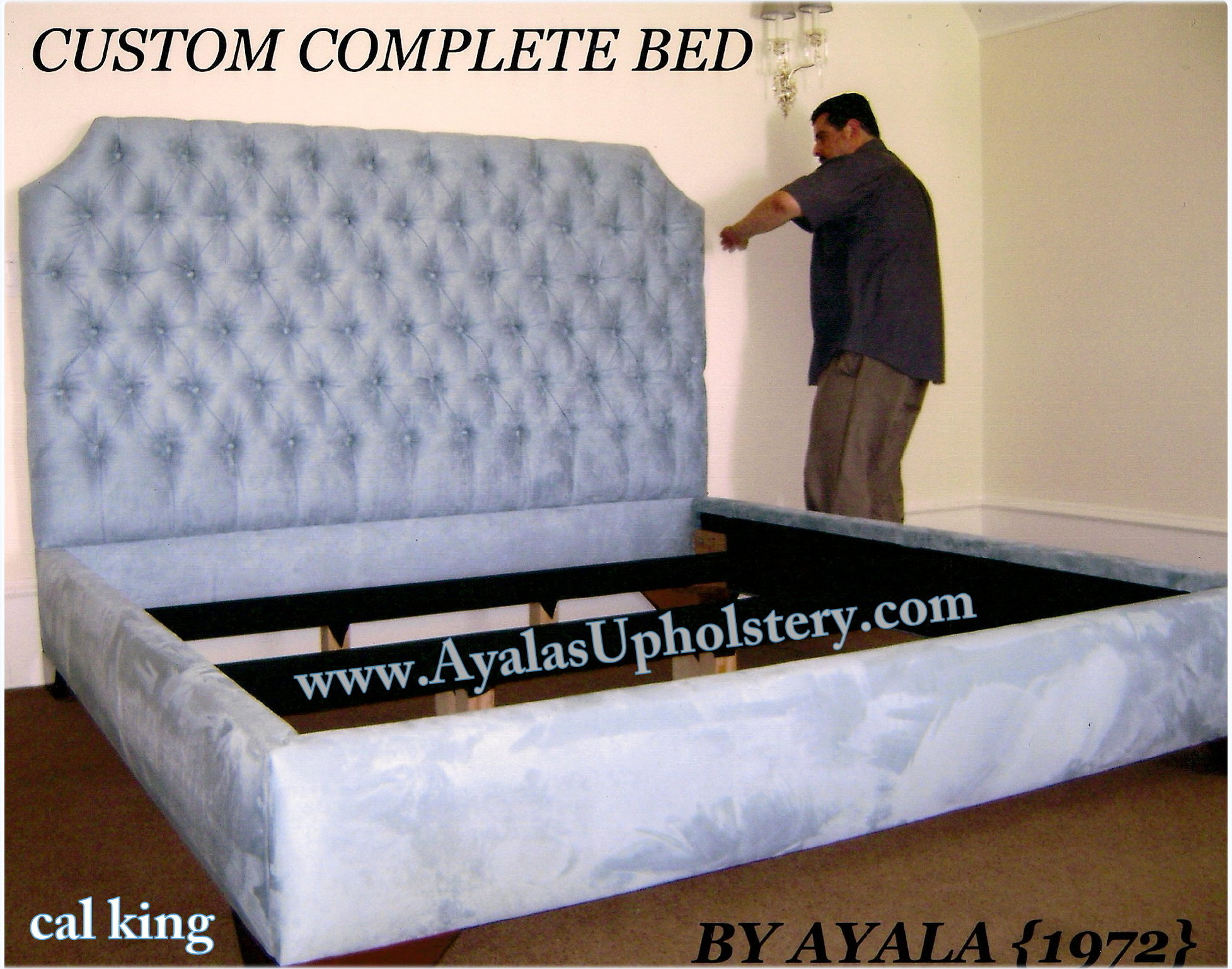 Beds Cal-King Complete Bed By Ayalas Upholstery.jpg