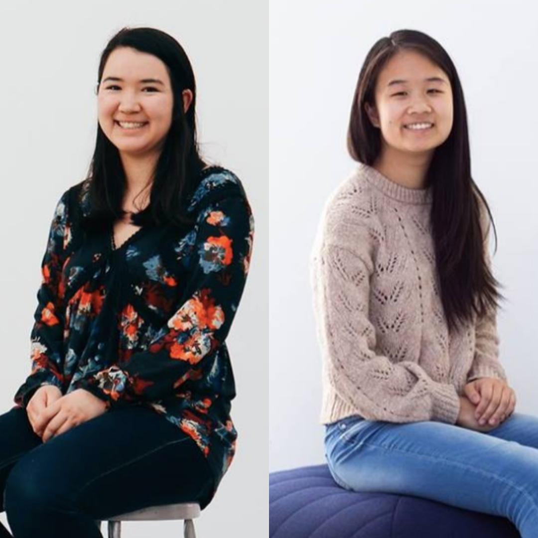 Olivia O'Dwyer & Sophia Ye - co-leaders, The Anti-resume project