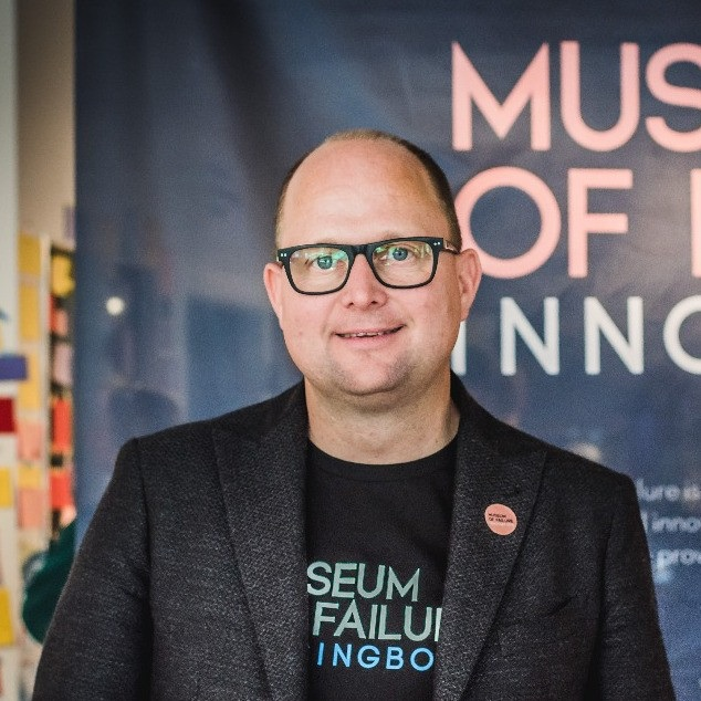 Dr. Samuel West - Curator, Museum of Failure