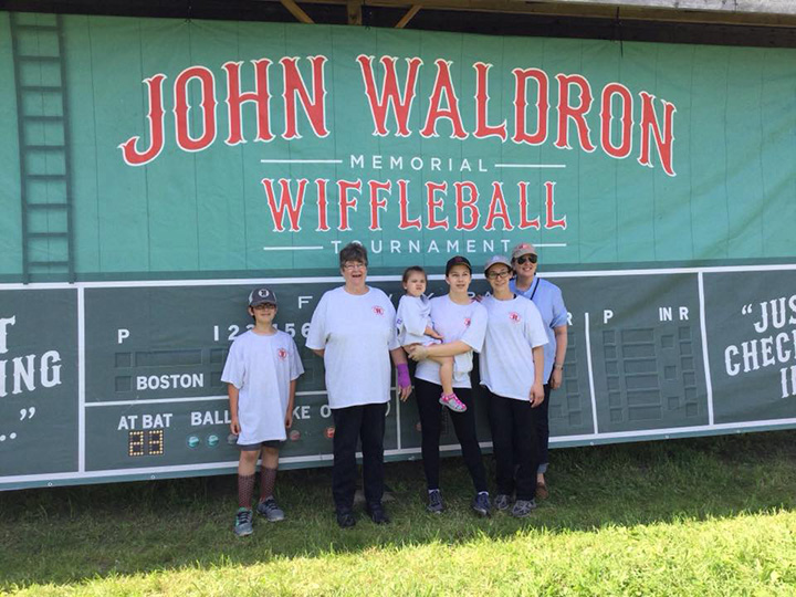 FCR Wacky Wiffles - Thank you to Linda Kenney-Logan and Team of FCR Wacky Wiffles for their participation in the 7th annual John Waldron Memorial Wiffleball Tournament on June 9, 2018. Over 28 teams participated in the event. A fun time was had by all!