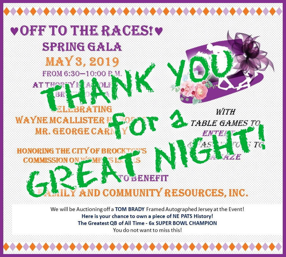 What a night! Our Spring 2019 Gala was a night to remember! - We are so grateful to everyone who attended the night, to our many event sponsors and donors, and to our silent and live auction!