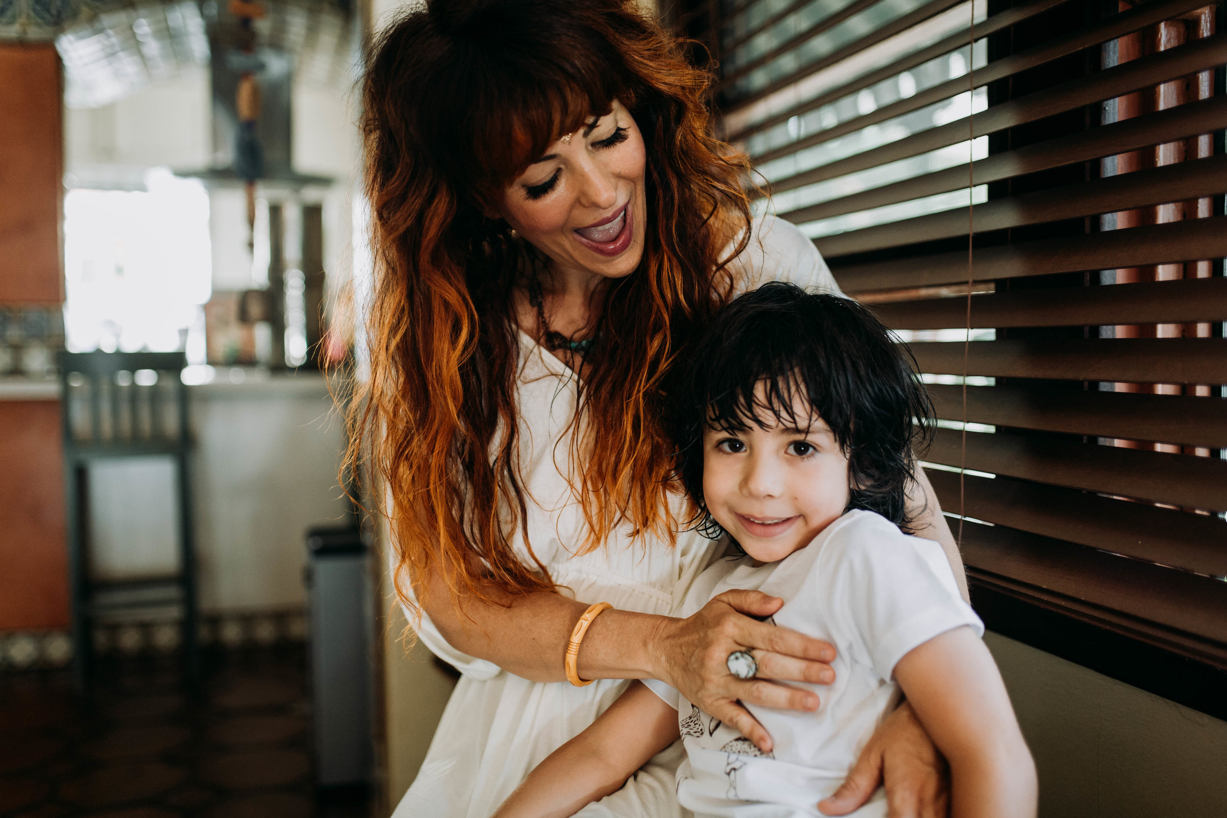 I am devoted to breaking the family patterns and shifting them to being a role model for myself and my son. PHOTO: HeatherBejar