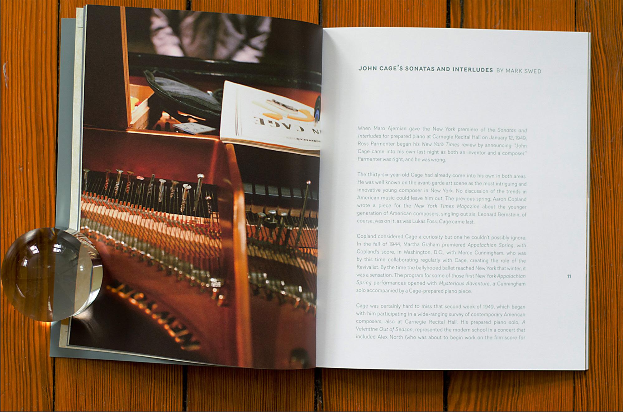 John Cage Sonatas and Interludes 3 lp box set