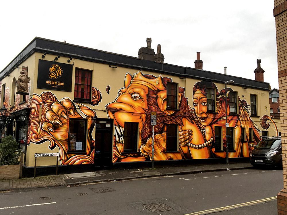 The Golden Lion Pub, Bristol '17