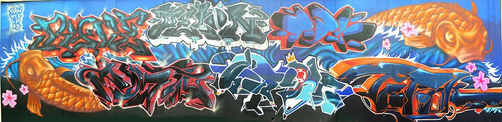 Bristol '08. With Ryder, Poster, Delon, Kaione, Poer, Epok