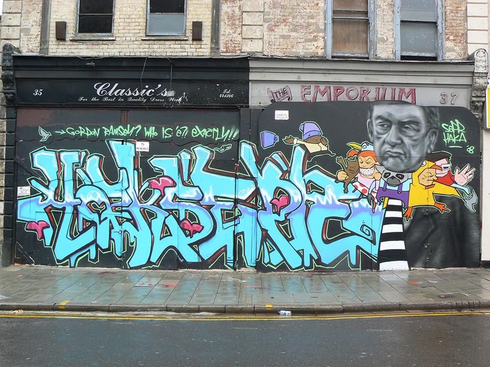 Bristol '08. With Haka