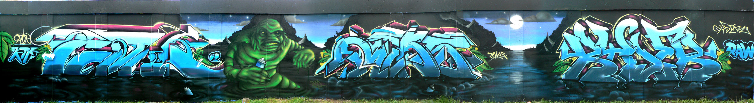 Bristol '08. With Epok, Riks, Ryder