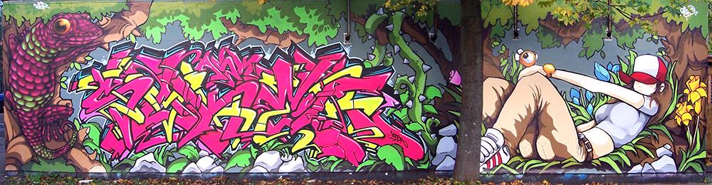 Bristol '08. With Soker & Cheo