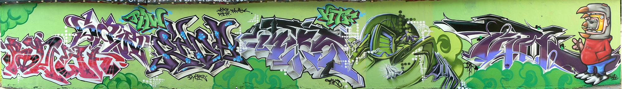Brighton '08. With Reaf, Saw, Ryder, Riks, Zase, Epok