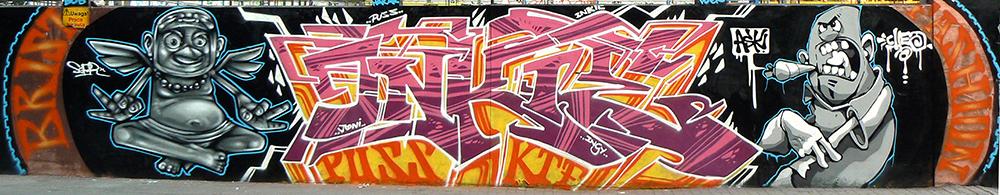 Poland '08. With Inkie & Cheo
