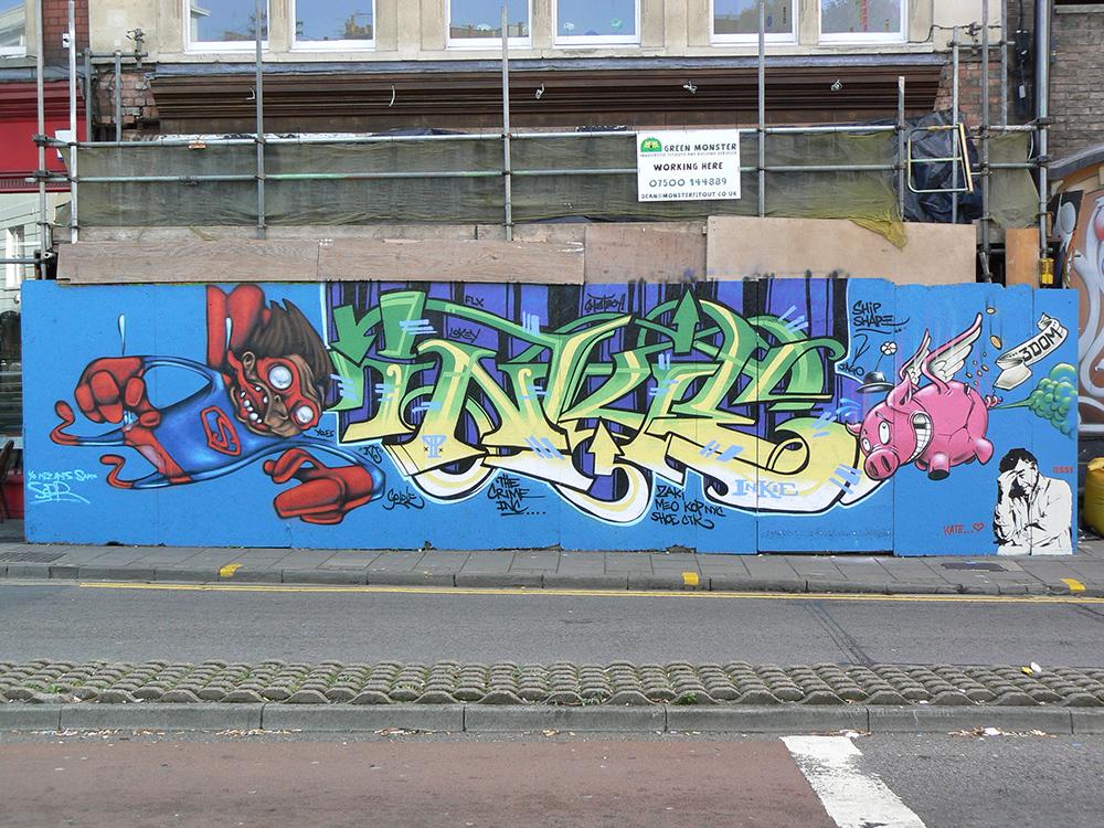 Bristol '09. With Inkie, 3Dom, BS51