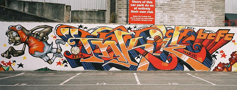 Bristol '11. With Inkie