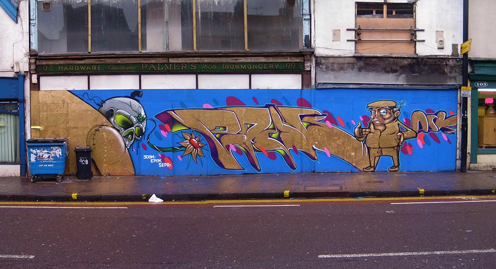 Bristol '12. With 3Dom & Epok
