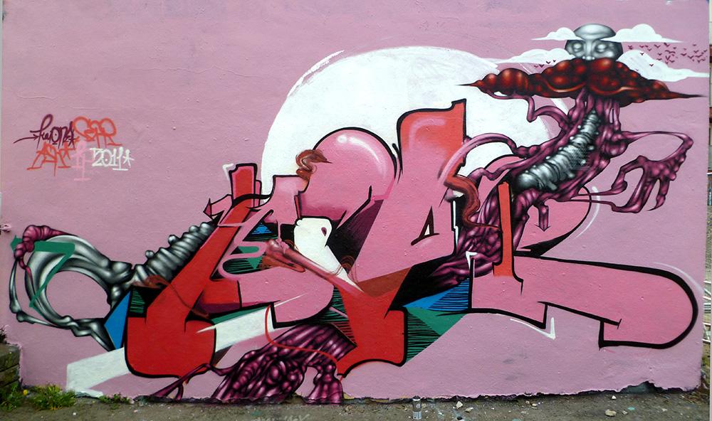 Bristol '11. With Kaione