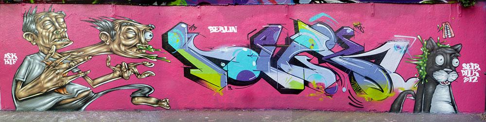 Berlin '12. With Dilk