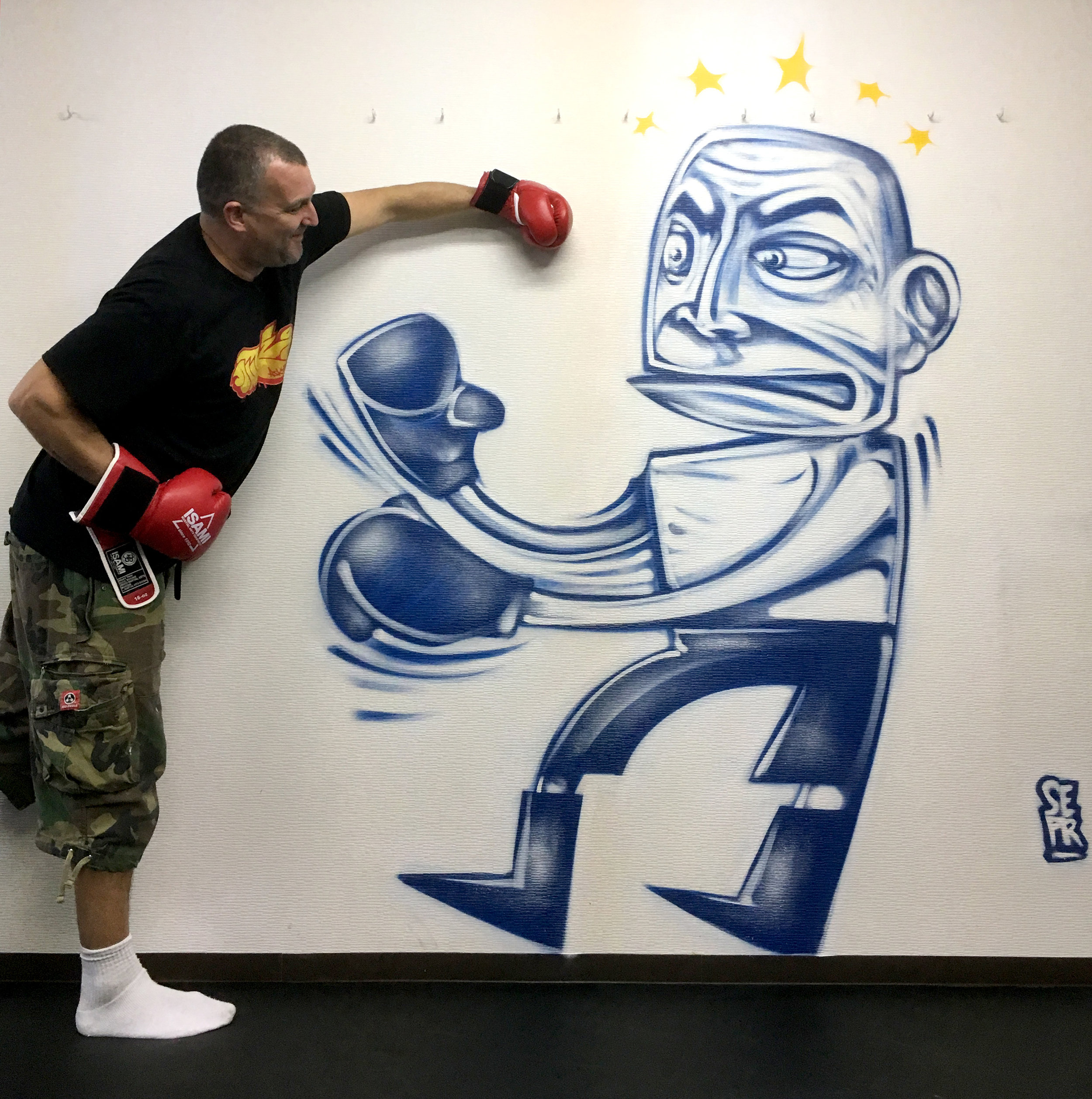 NEO Boxing Gym, Yokohama, Japan '18