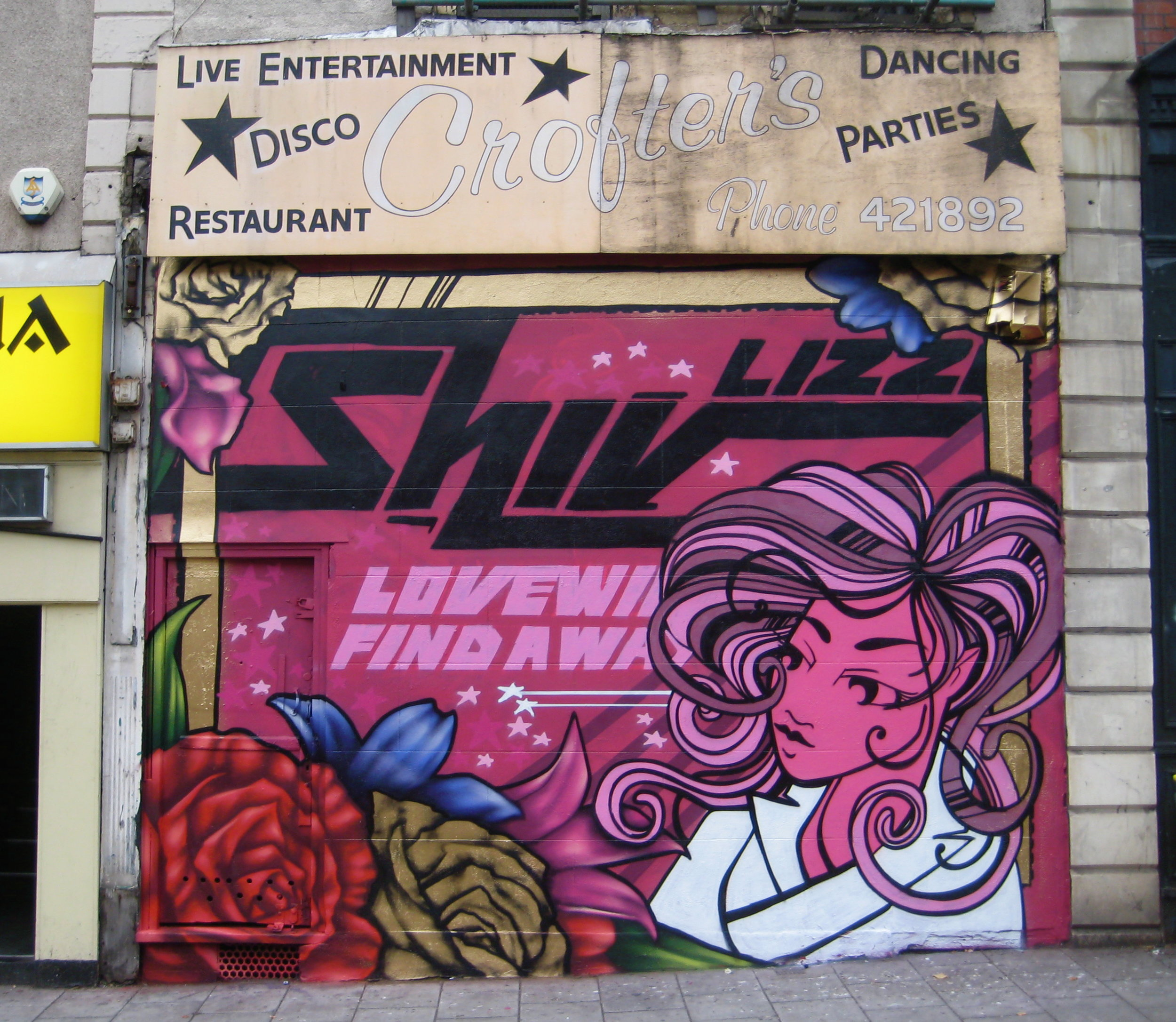 Bristol '09. With Inkie. Memorial piece for Shiv