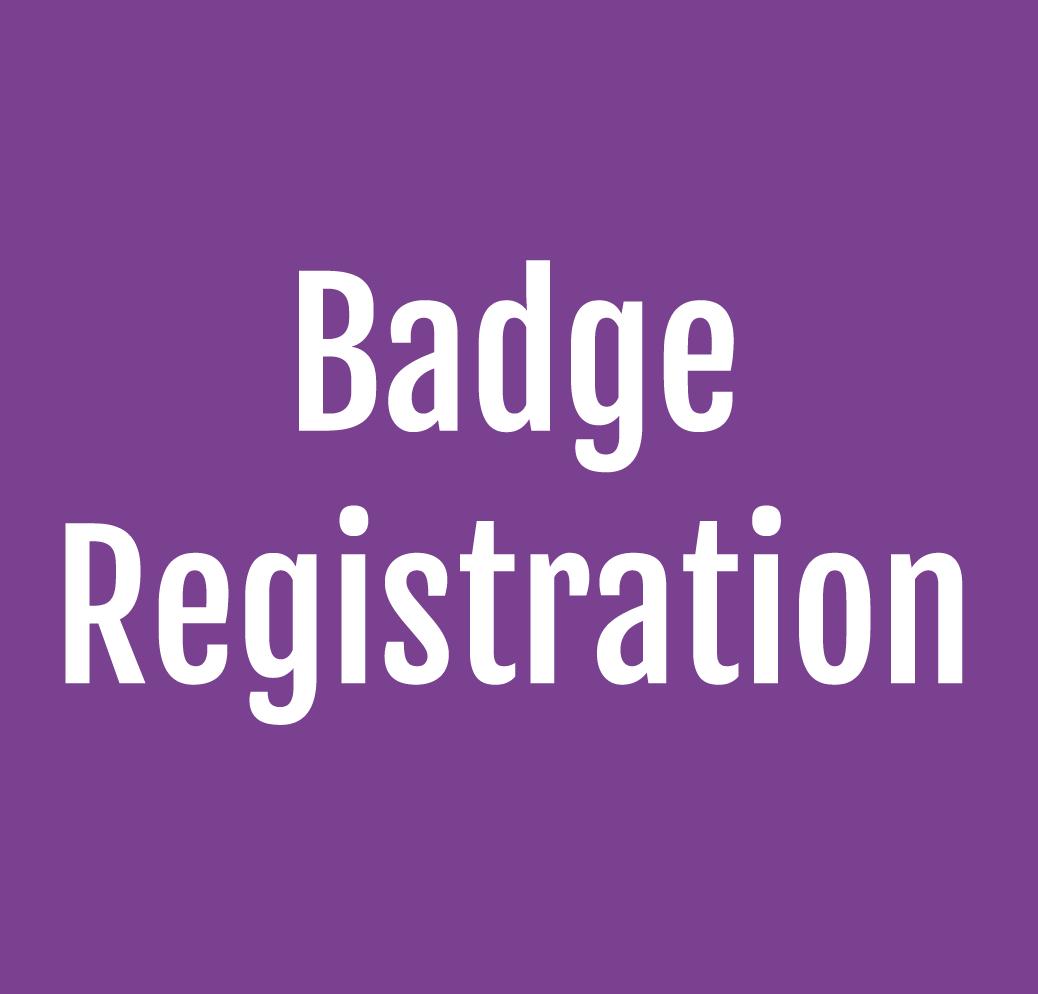 Exhibitor Badge Registration