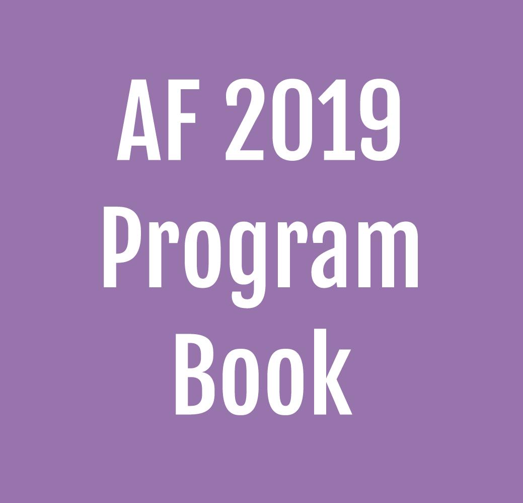 AF2019 Program Book