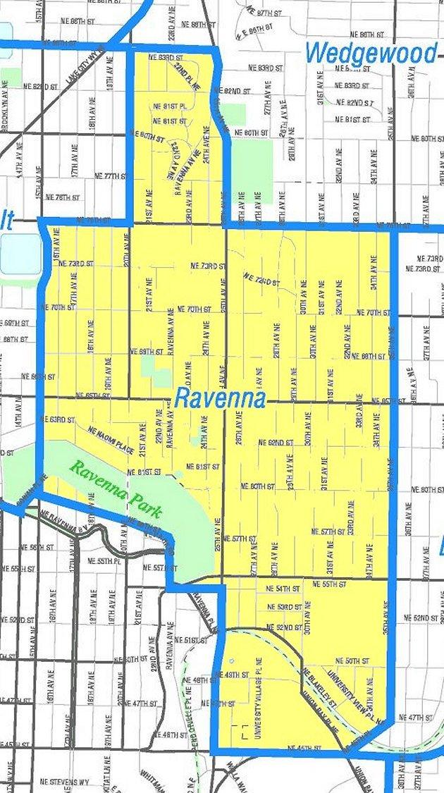 Ravenna Map -