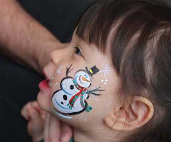 Face Painting - The perfect addition to any birthday party or event! Our artist can create beautiful artwork right on your face!