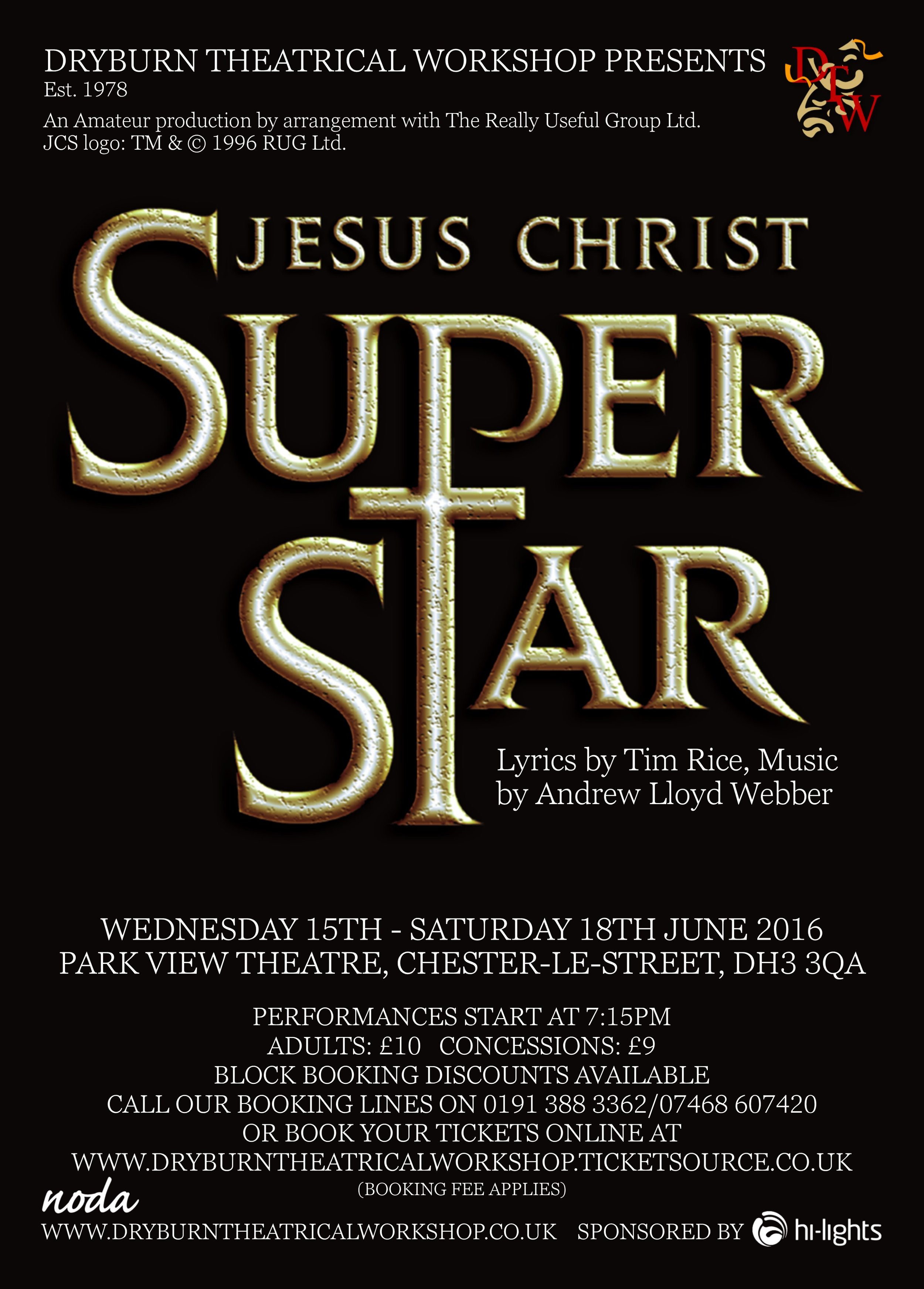 """JESUS CHRIST, SUPERSTAR. DO YOU THINK YOU'RE WHAT THEY SAY YOU ARE?"" -"