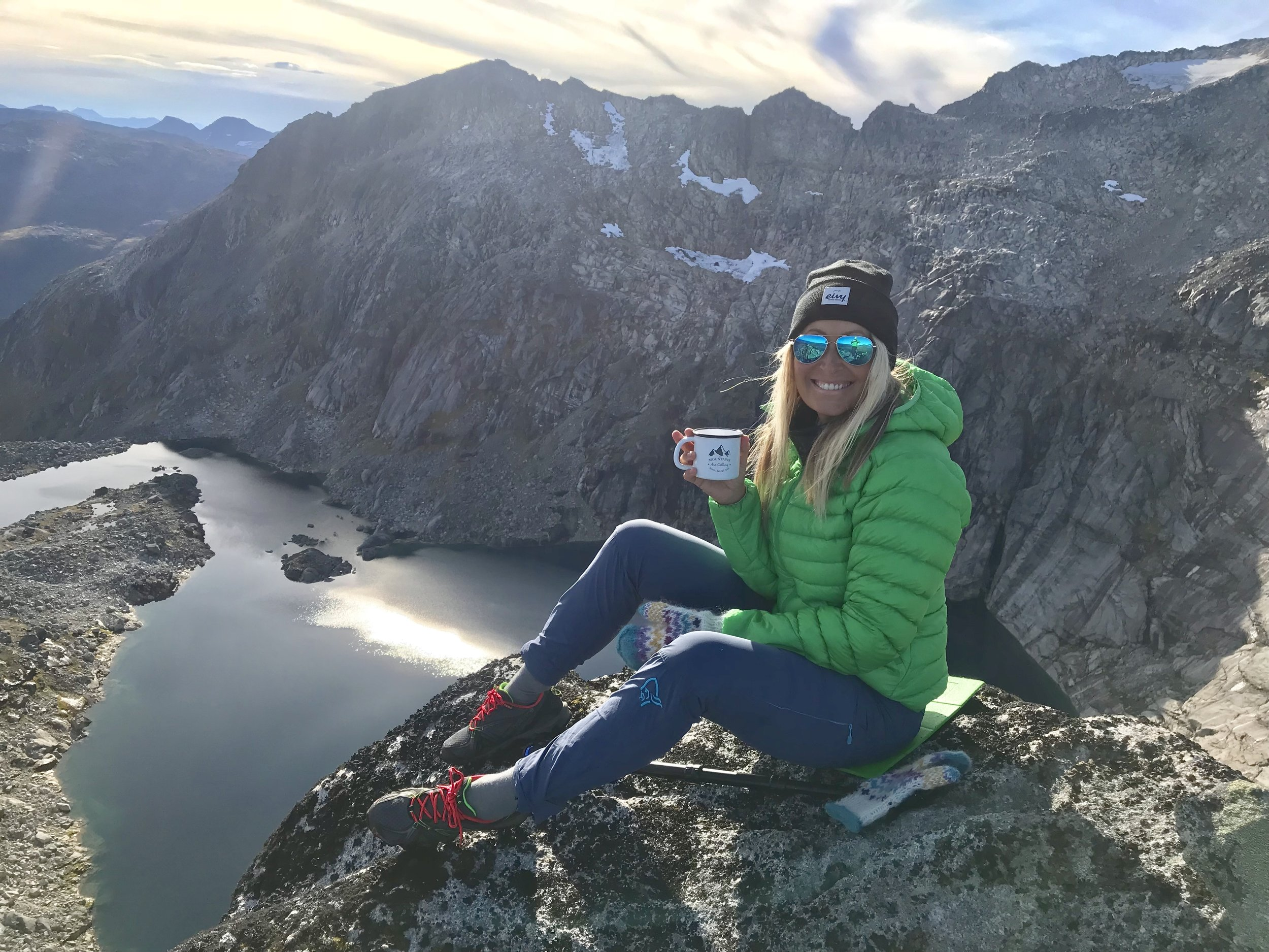 Me, on the top Soria Moria at Kvaløya, september 2018