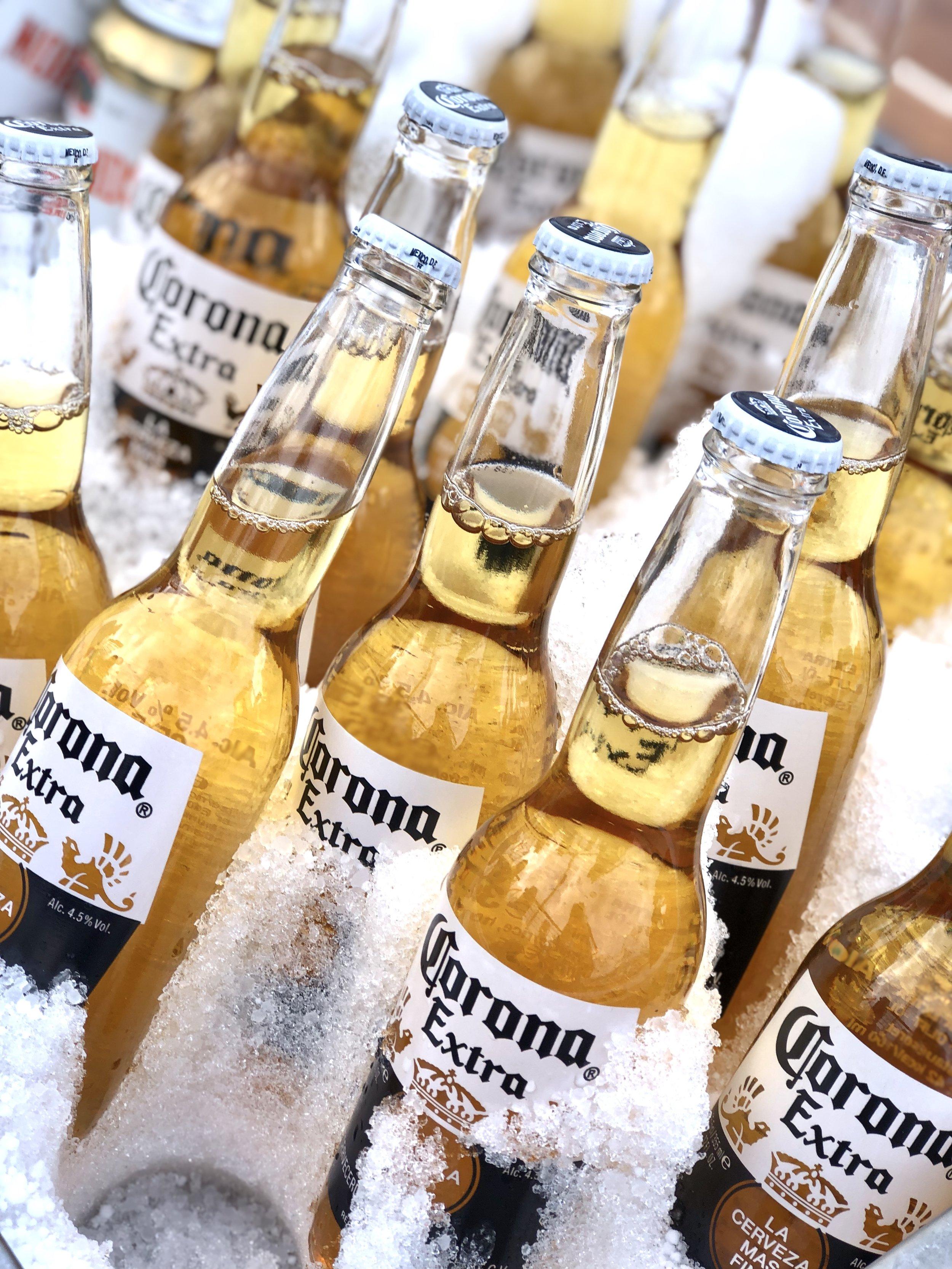 Kald Corona sto klart på dekk 🍻