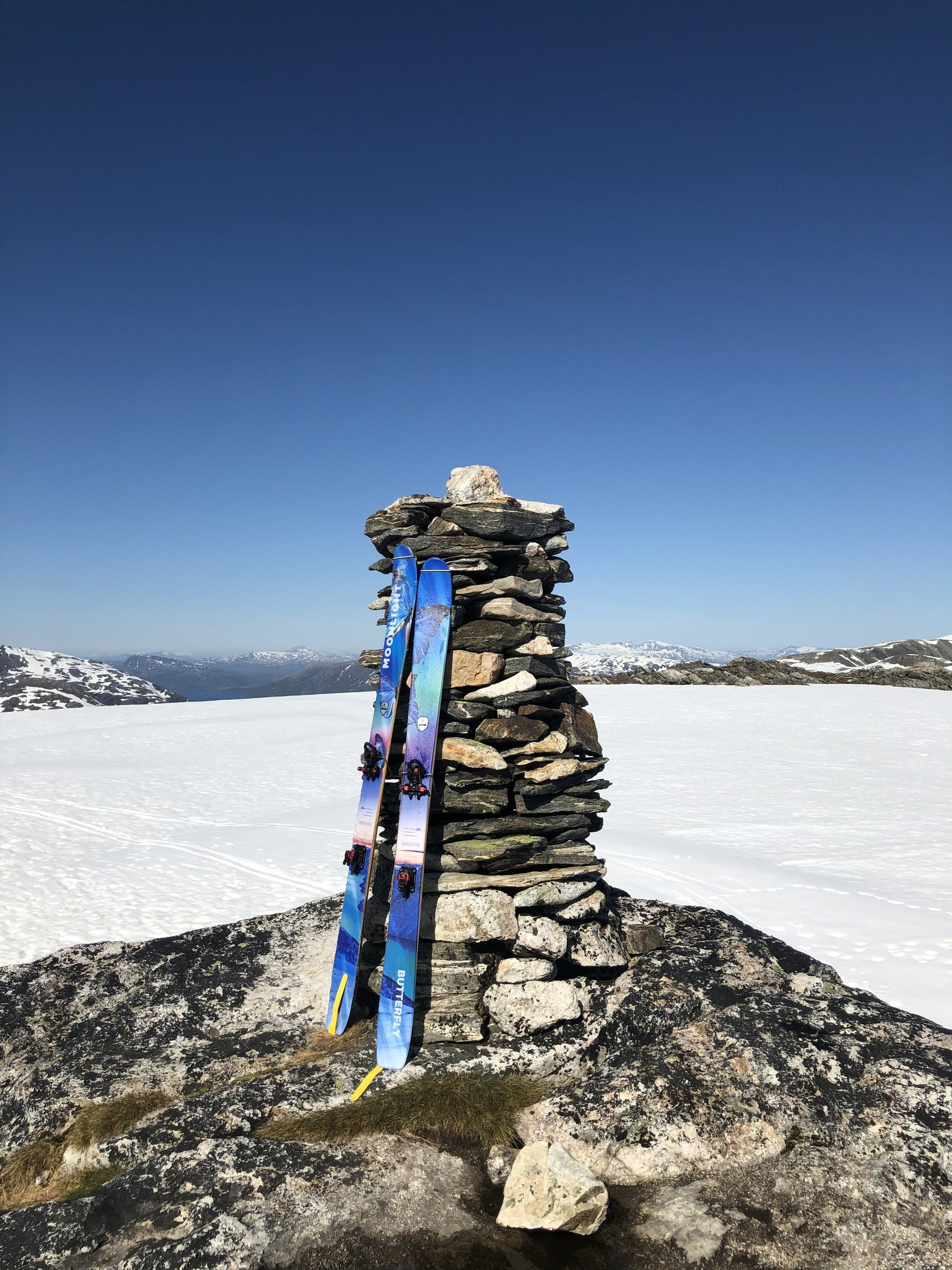 Toppvarden på Straumsaksla