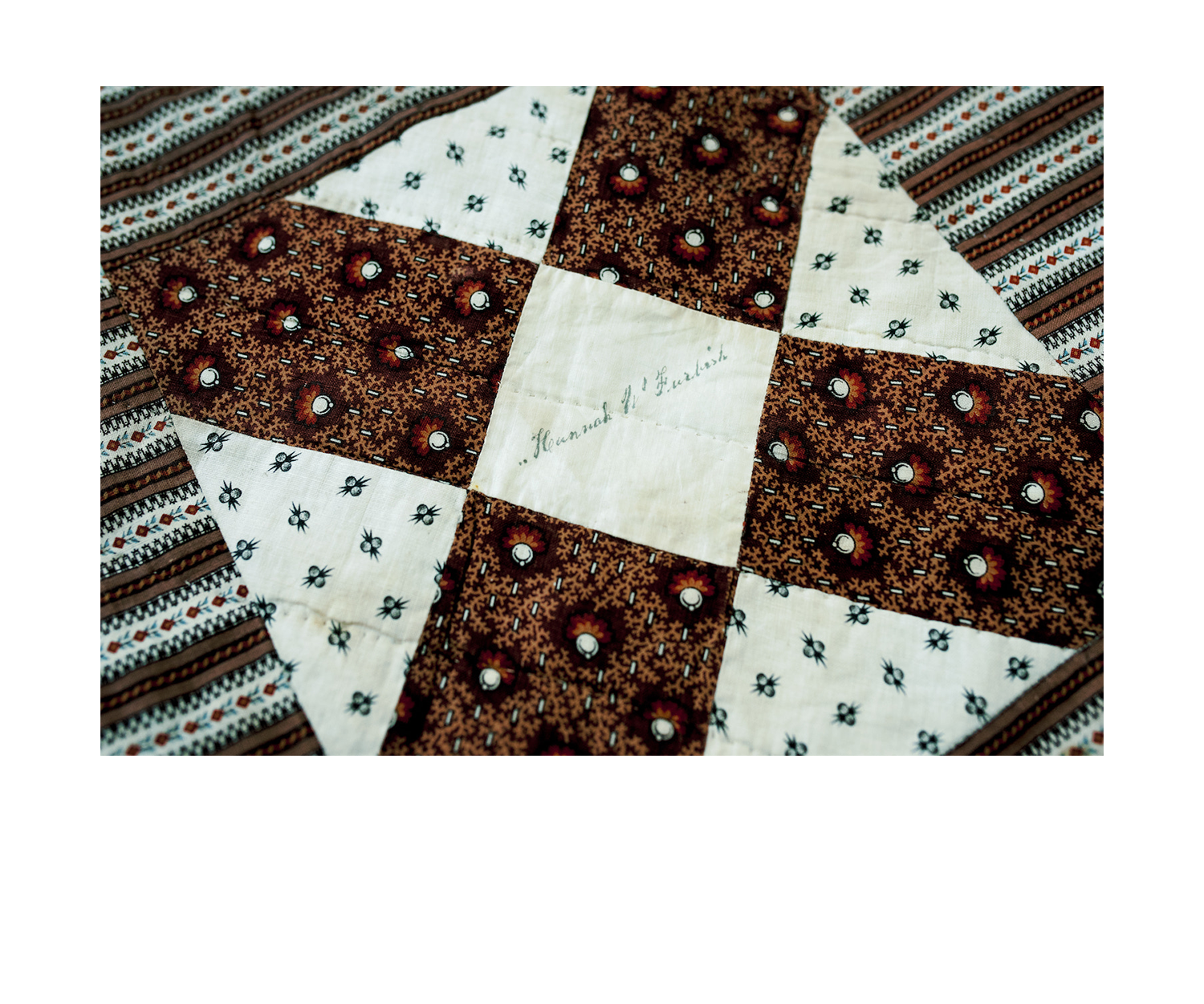 - Signature quilts (also known as friendship quilts) became popular in the 19th c. as treasured objects to commemorate loved ones or events. This example is dated to the mid 1800's and includes hand signed signatures along with rare natural color printed 19th c. calico and paisley textiles individually pieced together.